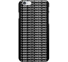 Hotline Bling - White iPhone Case/Skin