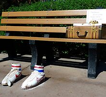 Forrest Gump Bench by phil decocco