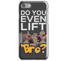 Do You Even Lift Bro - Pokemon - Conkeldurr Family iPhone Case/Skin