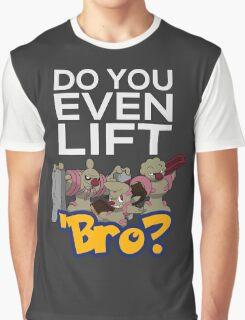Do You Even Lift Bro - Pokemon - Conkeldurr Family Graphic T-Shirt