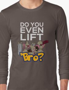 Do You Even Lift Bro - Pokemon - Conkeldurr Family Long Sleeve T-Shirt