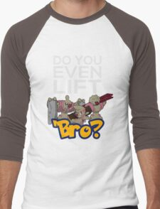 Do You Even Lift Bro - Pokemon - Conkeldurr Family Men's Baseball ¾ T-Shirt