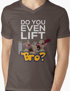 Do You Even Lift Bro - Pokemon - Conkeldurr Family Mens V-Neck T-Shirt
