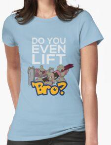 Do You Even Lift Bro - Pokemon - Conkeldurr Family Womens Fitted T-Shirt