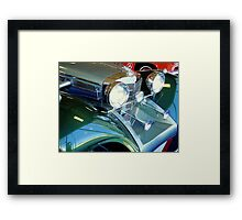 Elegance and Speed! Framed Print