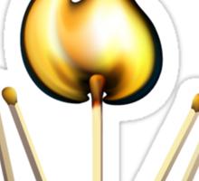 Matchsticks Sticker