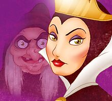 Snow White Evil Queen - iPhone Case by Lauren Draghetti