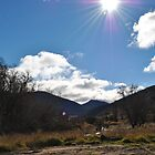 high mountain clear sky by peterhau