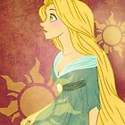 Rapunzel: The Lost Princess - iPhone Case by Lauren Draghetti