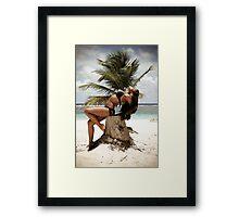 Caribbean Girl 02 Framed Print