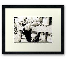 Caribbean Girl 03 Framed Print