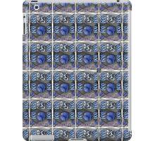 """Lissajous Mesh - BLUE""© iPad Case/Skin"