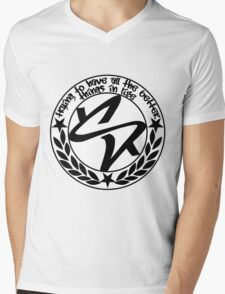 Trying to Have All The Better Things Mens V-Neck T-Shirt