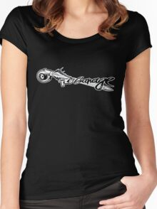 RL's Garage Women's Fitted Scoop T-Shirt
