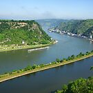 Loreley. Rhine, Germany by Aase