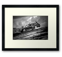 SWAY Burnout Framed Print