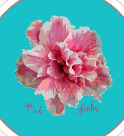 Pink Azalea Sticker