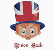 Union Jack T-shirt design Kids Clothes