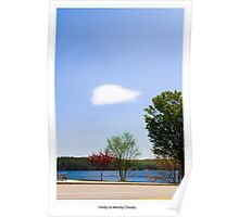 Partly to Mostly Cloudy Poster