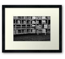 Park Hill Flats (Euro 2012) Framed Print