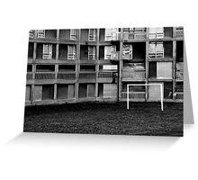 Park Hill Flats (Euro 2012) Greeting Card