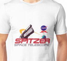 Spitzer Space Telescope Program Logo Unisex T-Shirt