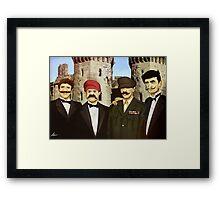 The Super Godfather Mario  Framed Print