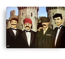The Super Godfather Mario  Canvas Print