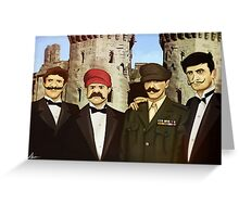 The Super Godfather Mario  Greeting Card