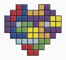 Pixel Heart Baby Tee