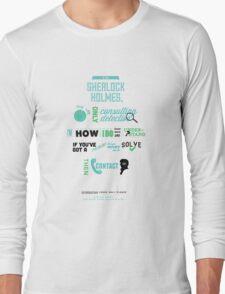 Sherlock Holmes - Consulting Detective Long Sleeve T-Shirt