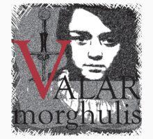 Arya Valar Morghulis Kids Clothes