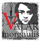 Arya Valar Morghulis by Zehda