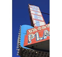 Plaza Motel Photographic Print