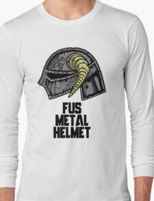 FUS METAL HELMET Long Sleeve T-Shirt