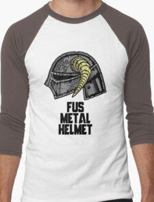 FUS METAL HELMET Men's Baseball ¾ T-Shirt