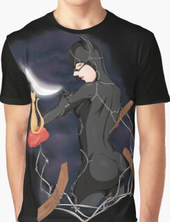 Cat woman Graphic T-Shirt