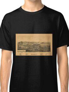 Panoramic Maps Salem NY Classic T-Shirt