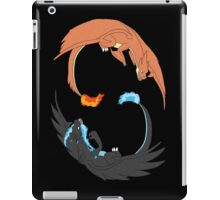 Mega Charizard Y and X iPad Case/Skin