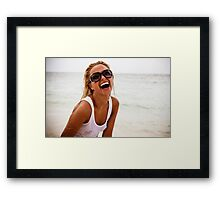 Caribbean Girl 14 Framed Print