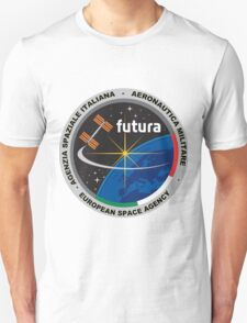 Futura Mission of ESA to the ISS Logo T-Shirt