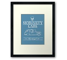 Moriarty Cabs Framed Print