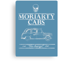Moriarty Cabs Canvas Print