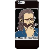 The Vice President Of The Colonies, Dr. Gaius Baltar iPhone Case/Skin