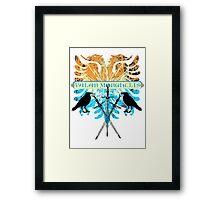 Valar Morghulis Framed Print