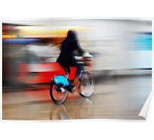 Boris Bike 2 ( Blurred Series) Poster