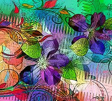 Tropical Vine by Darlene Lankford Honeycutt