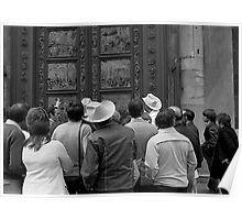 Baptistry Doors, Firenze Poster