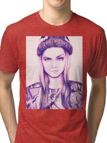 Cara Delevingne Tri-blend T-Shirt