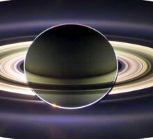 Earth From Saturn VIA Cassini Sticker